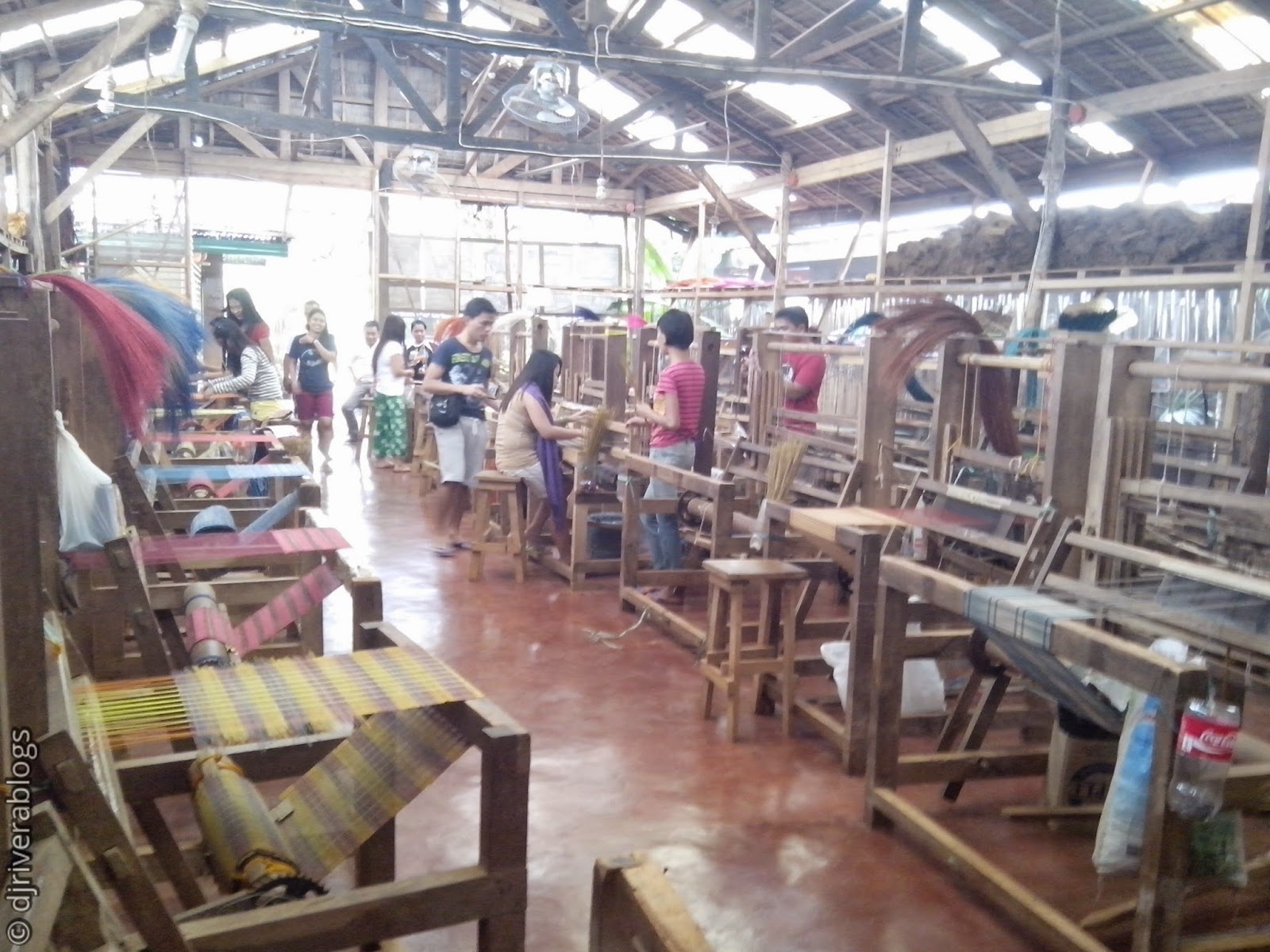 Binauatan Creations weaving area