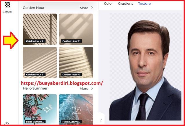 Cara mengedit Background foto di PicsARt