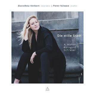 Die stille Stadt - Alma Mahler, Schreker, Korngold; Dorothea Herbert, Peter Nilsson; 7 Mountain Records