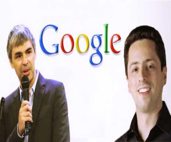 مؤسس قوقل google - لاري وسيرجي