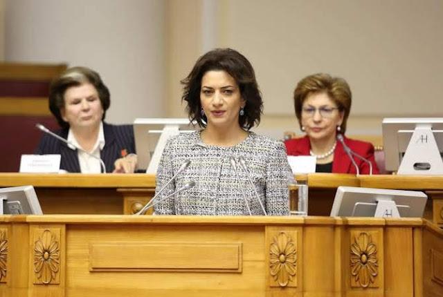 Akobian pidió a madres de Azerbaiyán y de Armenia pedir juntas la paz