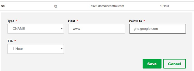 c name for custom domain name