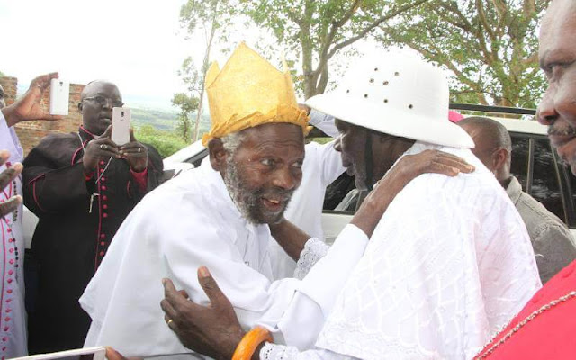 Pope Romanus Ong'ombe and Pope Raphael Adika