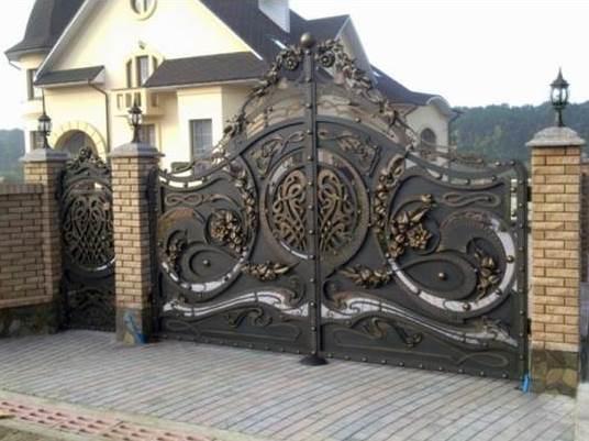 Ворота ковані 1