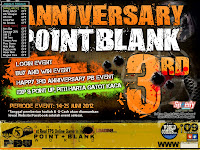 Cheat Point Blank Terbaru 22 Juni 2012