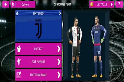 DLS 2020 Mod FIFA 20 Volta 2019/2020