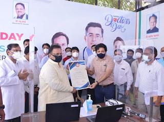 Hapoy-National-Doctors-Day-Dr-Raghu-Sharma-cabinet-minister-health-ayurveda