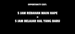 opportunity cost raditya dika