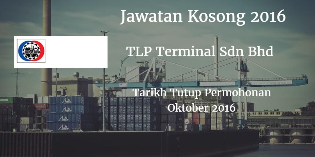 Jawatan Kosong TLP Terminal Sdn Bhd Oktober 2016