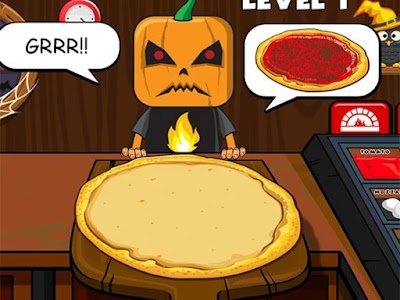العاب طبخ البيتزا فى المطاعم وتقديمها للزبائن