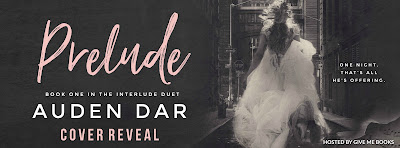 Cover Reveal: Prelude by Auden Dar