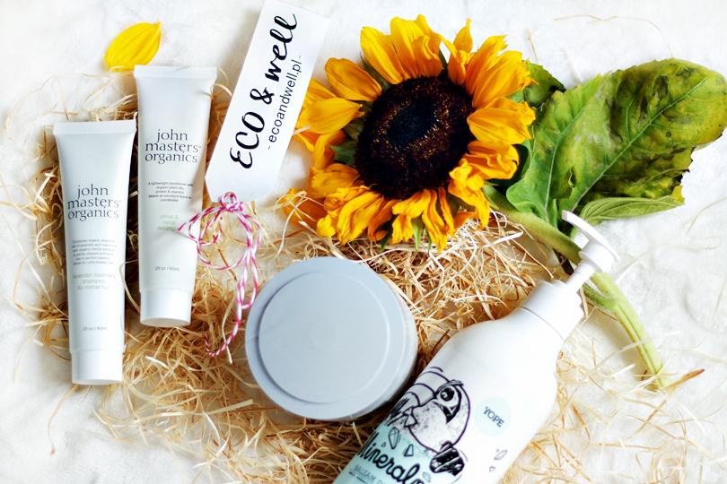 organiczne, eco well, john masters organics, clochee, yope, peeling, cukrowy, ekologiczne, naturalne, kosmetyki, balsam, krem do rąk, beauty, szampon do włosów, odżywka do włosów,