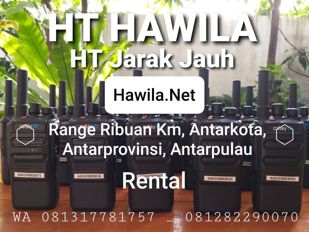 HT Hawila HT Jarak Jauh, Cafsky Radio