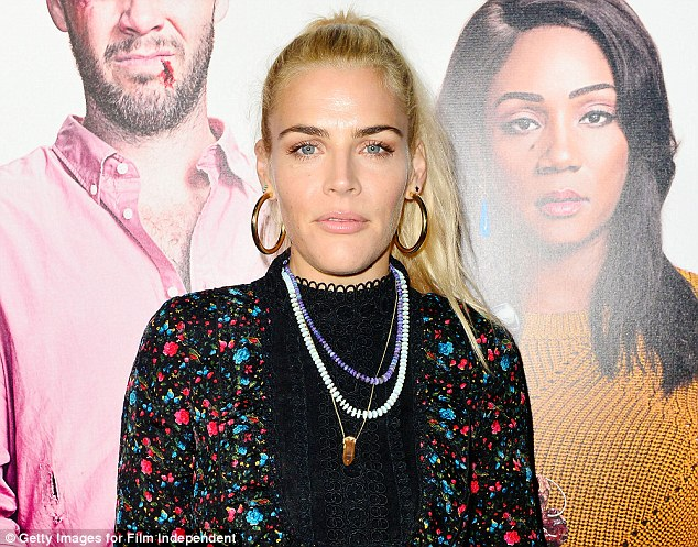 Busy Philipps reveals she was raped at the age of 14 as she shows support for Dr Christine Blasey Ford