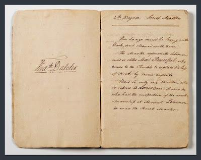 Frederick Dalcho Scottish Rite Degrees Book, 1801