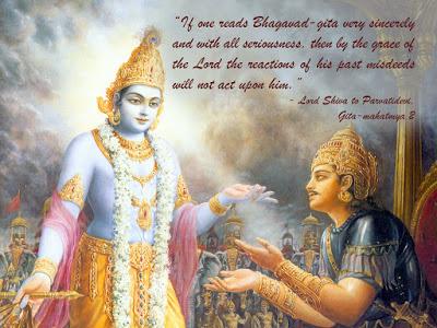 Lord Krishna & Arjuna