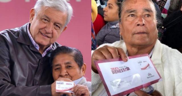 AMLO CUMPLE; Baja a 65 años la edad para recibir pensión a abuelitos y aumenta 400 pesos