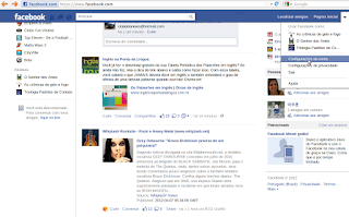 Mudando a senha do Facebook