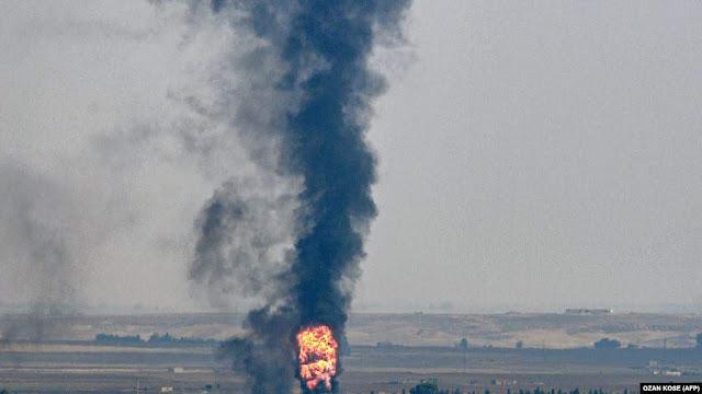 EE.UU cuidará pozos petroleros en Siria
