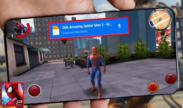 تحميل لعبة The Amazing Spider Man 2 للاندرويد بجرافيك خيالي و أموال غير محدودة