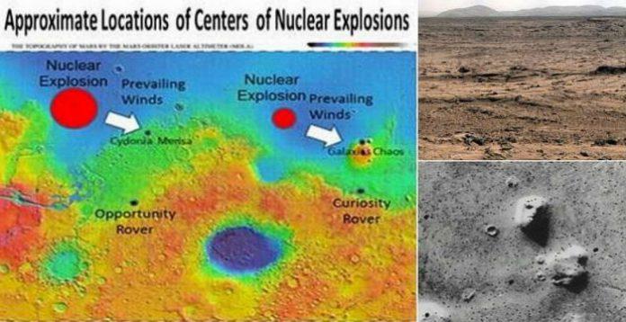 Eπιστήμονας στο Συνέδριο Αμερικανικής Φυσικής: Η αρχαία ζωή στον Άρη αφανίστηκε από πυρηνική επίθεση