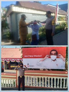 Serius Pencegahan Covid,Polres Jeneponto Glorakan Kampanye  Penggunaan Masker