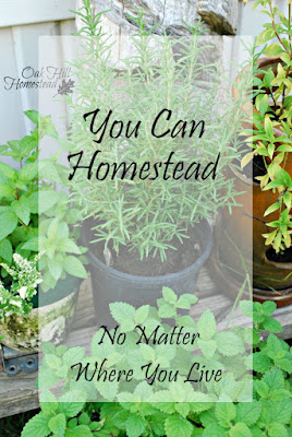 Homesteading is a state of mind, not a place on a map - Oak Hill Homestead