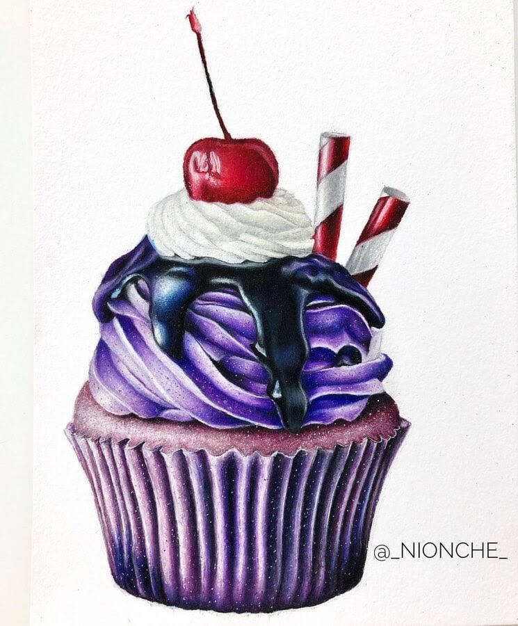 05-Cupcake-with-blueberry-frosting-Niya-www-designstack-co