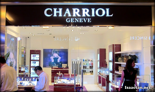 The really up-market and classy Charriol Geneve store in Starhill Gallery