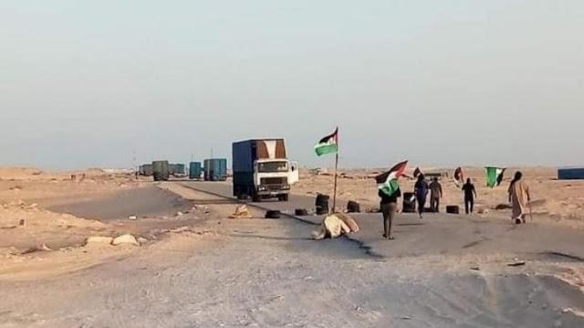 agadir press : Polisario / El Guerguerat: To drown the fish, Algeria sends loaded planes to Mauritania