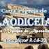 Carta à Igreja de Laodiceia no Apocalipse