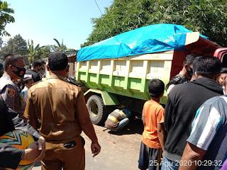 Kecelakaan Maut, 1 Orang Tewas Terlindas Truck di Jalan Poros Kampili Gowa