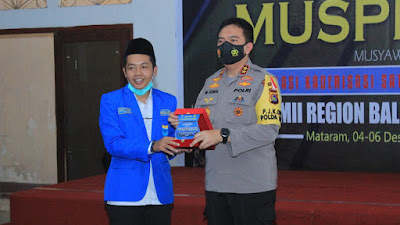 Pilkada NTB Sukses, PKC PMII Bali-Nusra Beri Apresiasi Polda