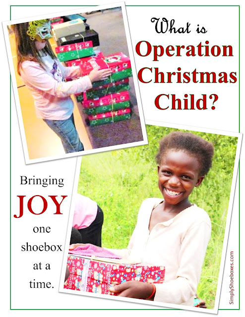What is Operation Christmas Child?  An Introduction.