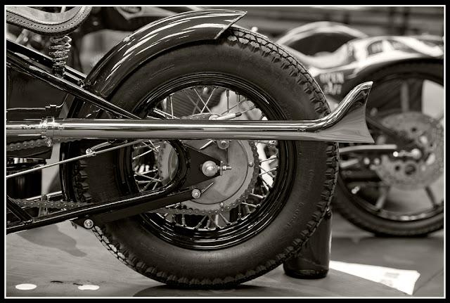 Garage Brewed Motorcycle Show; Motorcycles, Rheingeist Brewery; Cincinnati; Triumph