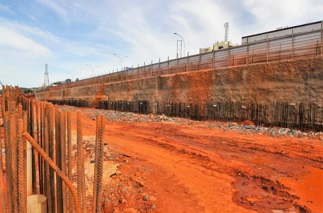 Avança a construção do túnel de Taguatinga