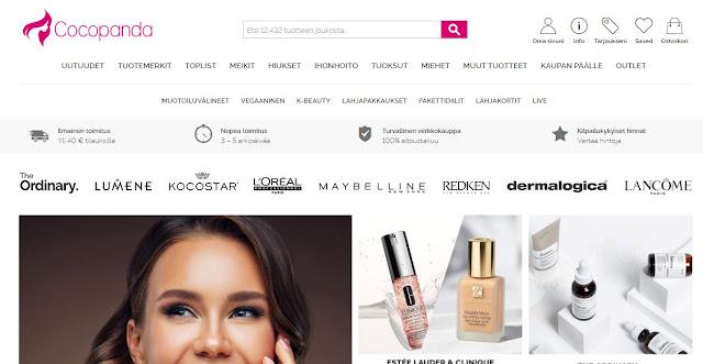 cocopanda kokemuksia kosmetiikkaa netistä