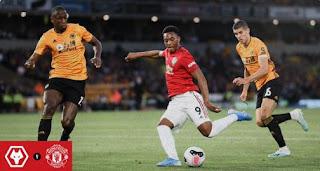 Wolverhampton Wanderers vs Manchester United 1–1 Highlights
