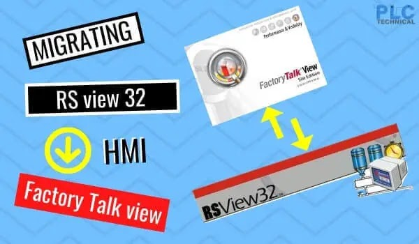 Migrating RSView32 HMI project to FactoryTalk View SE