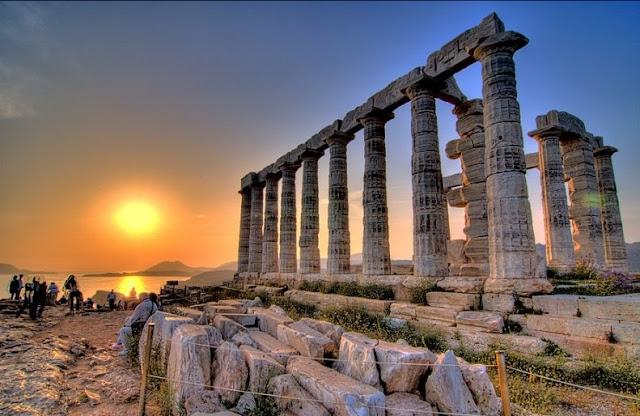 Praias de lua de mel em Atenas