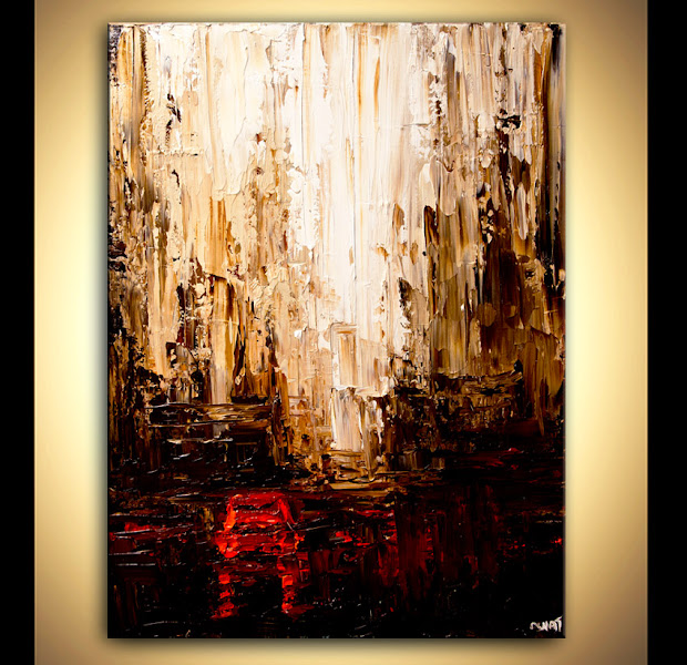 Abstract Art Paintings Cities