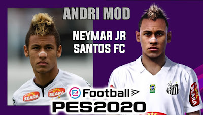 PES 2020 Faces Neymar Jr by Andri Mod