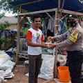 Peduli Covid-19, Dapur Umum Polres Bintan tetap bagikan makanan ke Masyarakat