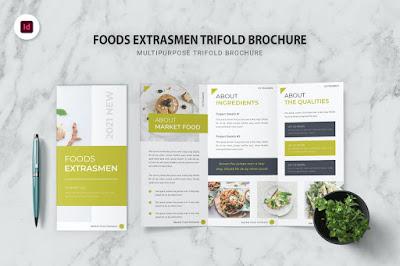 Contoh brosur makanan sederhana