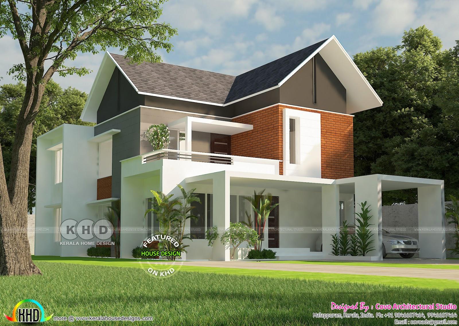 Beautiful 2200 Square Feet Modern Home