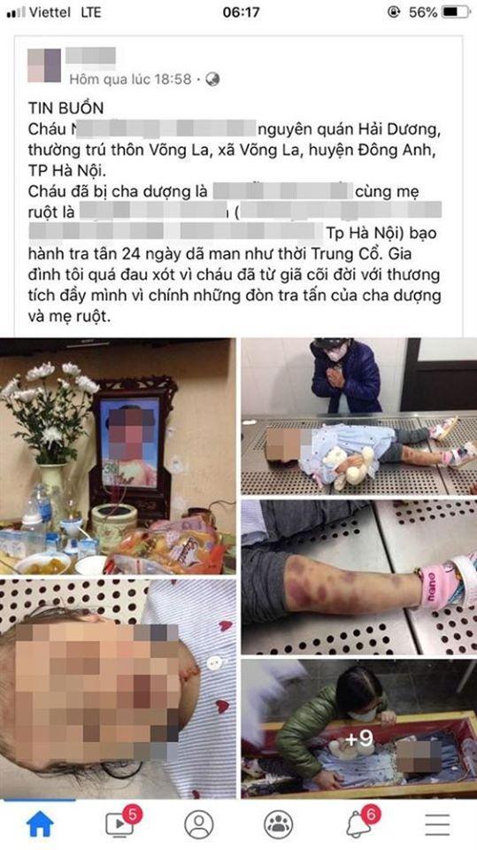 Bà ngoại đau đớn kể lại việc bé 3 tuổi nghi bị mẹ đẻ và cha dượng sát hại