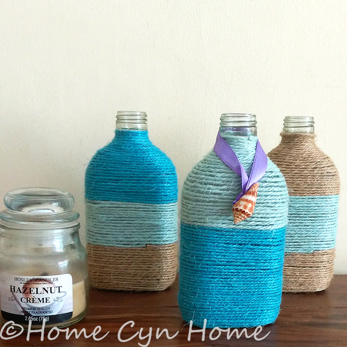 This simple DIY project is a great way to repurpose old bottles or jars into your home decor, or to store pantry staples in style in your kitchen