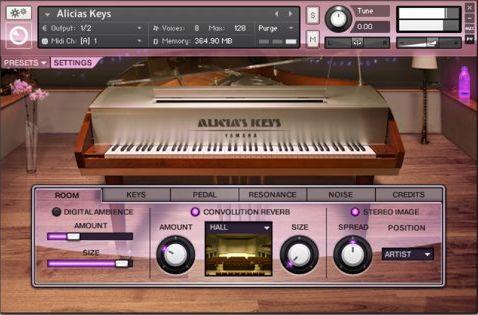 Native Instruments - Alicia's Keys KONTAKT Library
