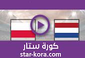 نتيجة مباراة هولندا وبولندا بث مباشر اليوم 04-09-2020 دوري الأمم الأوروبية