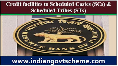 Credit facilities to Scheduled Castes